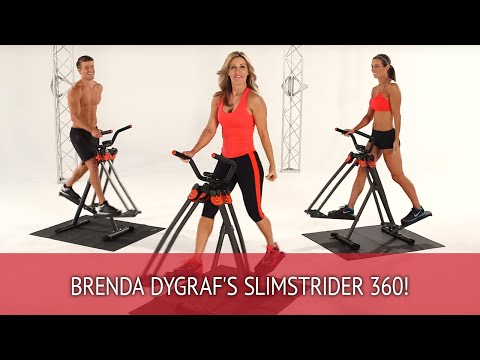 Brenda DyGraf's SlimStrider360 - The fitness solution that's easy on joints!