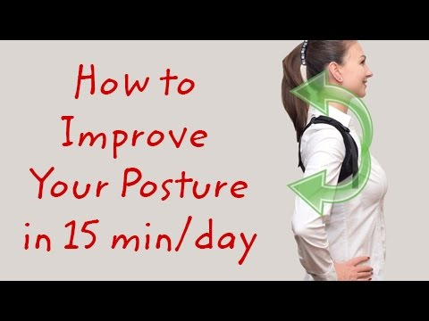 How to improve your posture in 15 minutes a day - using Smart Back Brace Posture Corrector