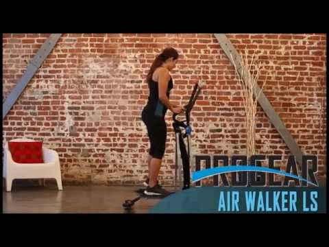 "3409 - PROGEAR Dual Action 360 Multi Direction 36"" Stride Air Walker LS with Heart Pulse Sensors"