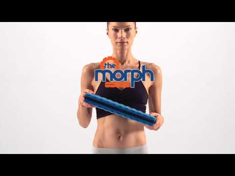 The Best Foam Roller - The Morph - With Collapsible Core Technology