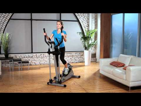 1302 - Exerpeutic 1000XL Heavy Duty Magnetic Elliptical with Pulse