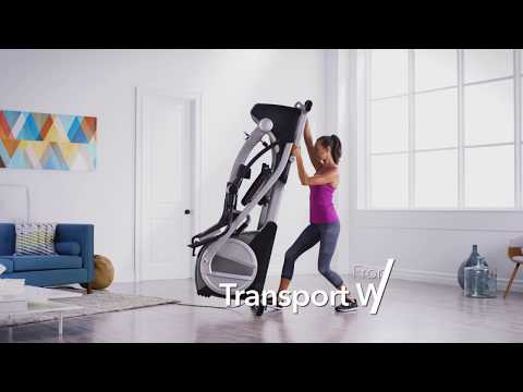 Fitness Is Fun On The Smart Strider 895 CSE By ProForm