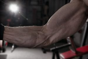 BFR bands big forearms