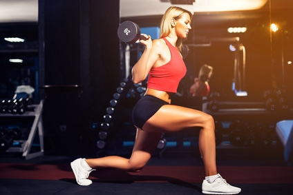 do lunges properly for best results