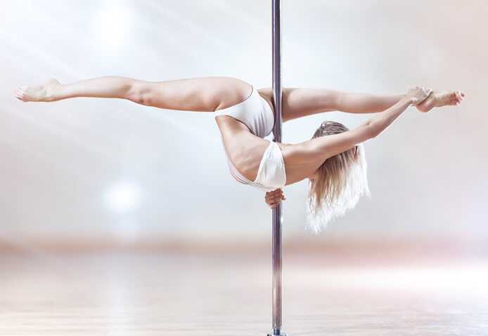 Olympic Sport & Pole Dancing Weight Loss benefits