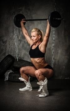 squat properly bigger bum