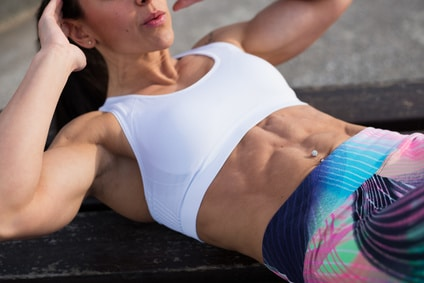 ab exercises doing crunches