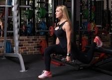 bulgarian squat glute exercise
