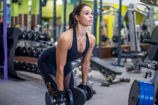 Dumbbell Deadlift benefits muscles worked
