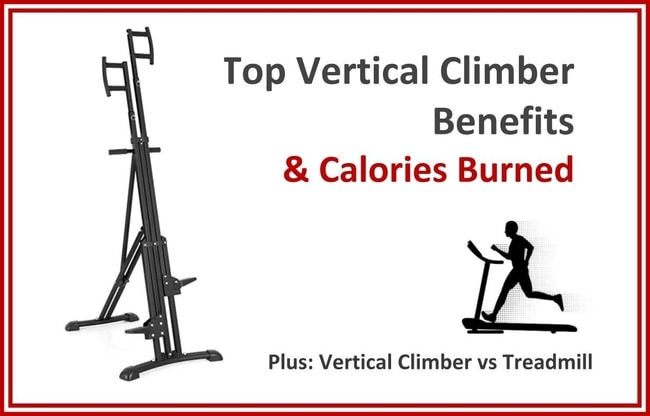 vertical climber benefits and calories burned