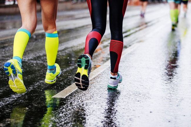 running in the rain tips how to guide