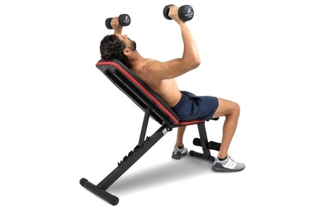 folding weight bench by ProsourceFit