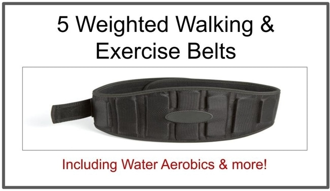best weighed belts for running & walking