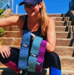 printed hip bands by victorem gear